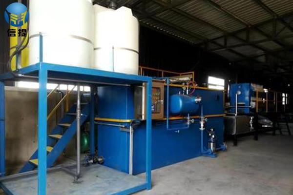 污水处理设备施工现场